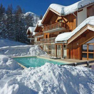 Résidence La Combe d'Or - extra ingekocht Les Orresis een zeer gastvrij skistation in het zuiden van de Alpen. Het dorp is in de jaren zeventig gebouwd