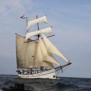 wandelreis per zeilboot